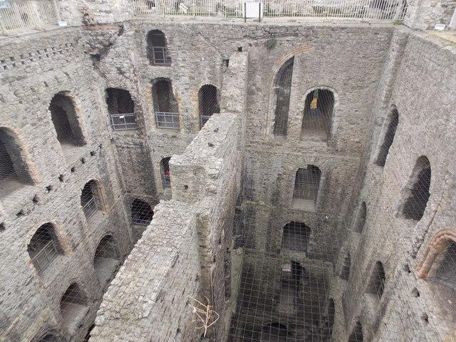 Rochester: castle interior