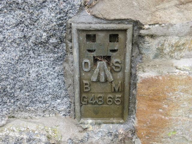 Ordnance Survey Flush Bracket G4365