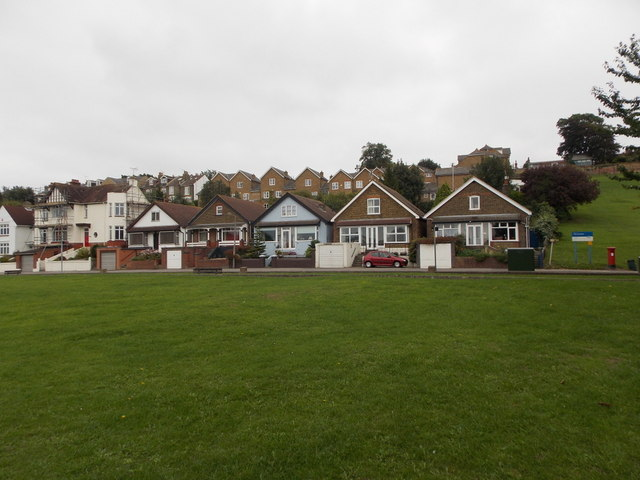 Rochester: chalet bungalows on the Esplanade