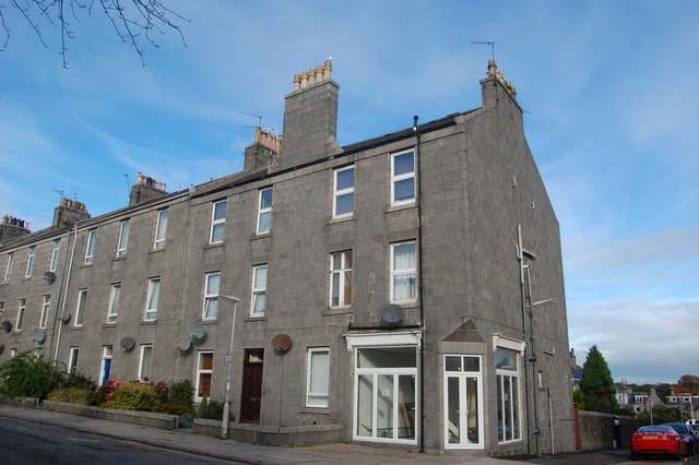 Granite terrace, Orchard Street, Aberdeen