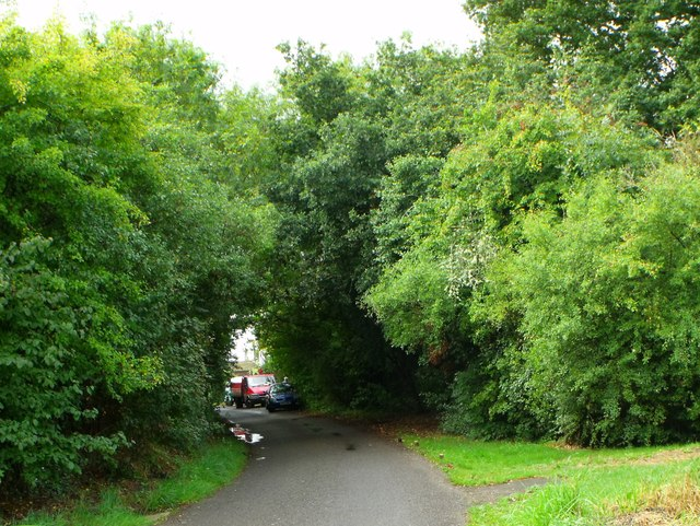 Private road north of Hurstpierpoint