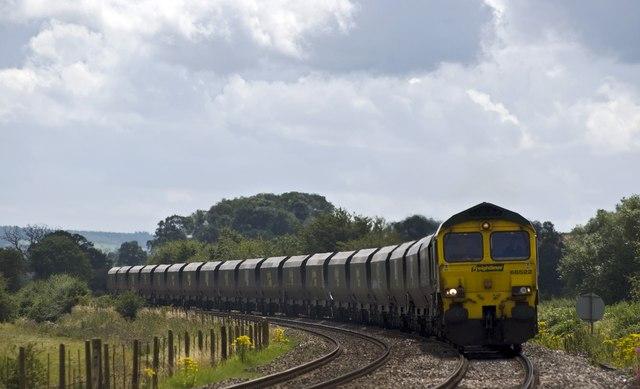 Railway near Moreton-on-Lugg