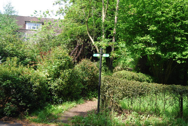 Footpath off Speldhurst Hill