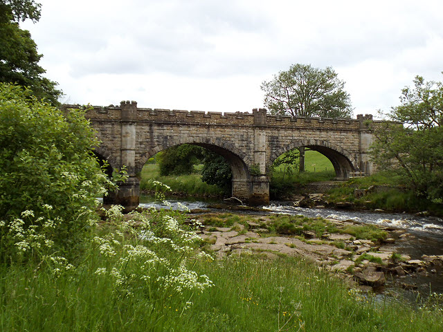 The Nidd Aqueduct over the Wharfe