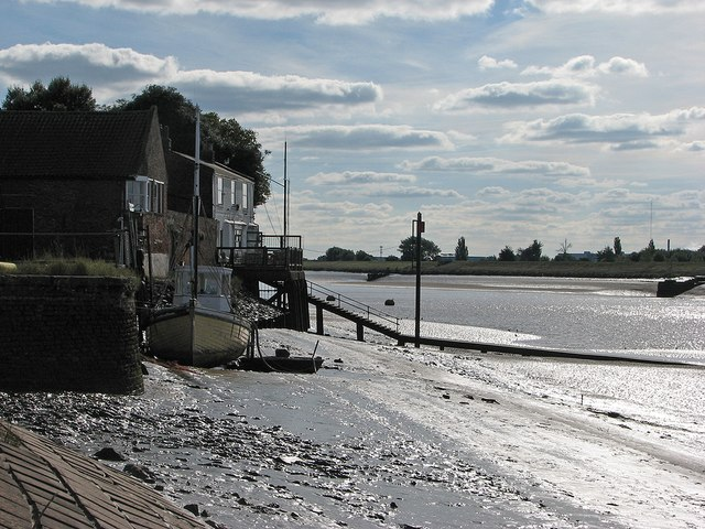 King's Lynn: the Ouse in October