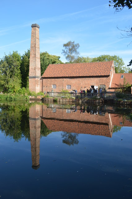Reflection on Sarehole Mill