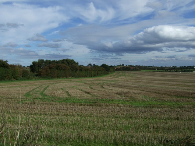 Farmland east of Barracks Lane