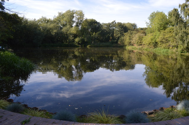 Mill Pond at Sarehole Mill