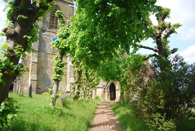 Path to Speldhurst Church
