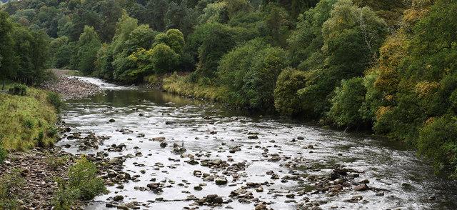 River Allen upstream from Cupola Bridge
