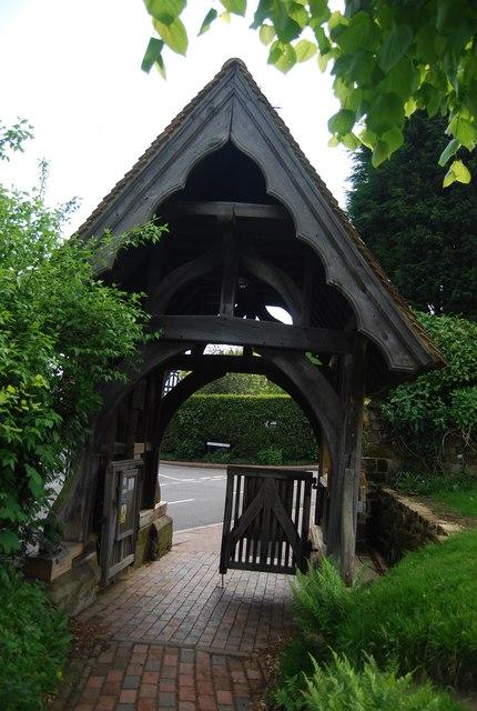 Lych gate, Speldhurst
