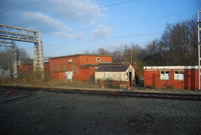 Trackside buildings