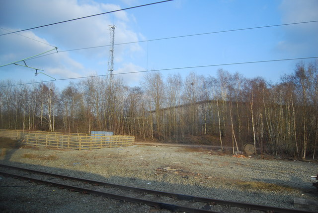 Old sidings north of Crewe Station