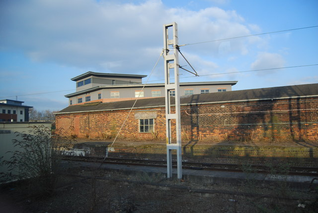 Building by the WCMl, Crewe