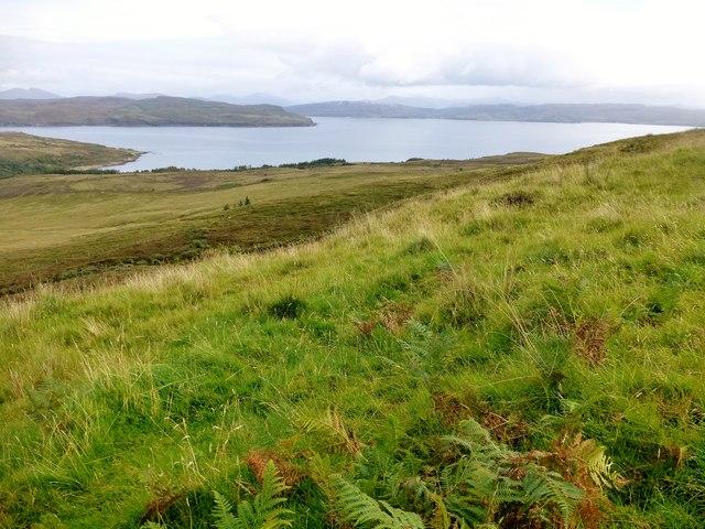 View Towards Loch Slapin