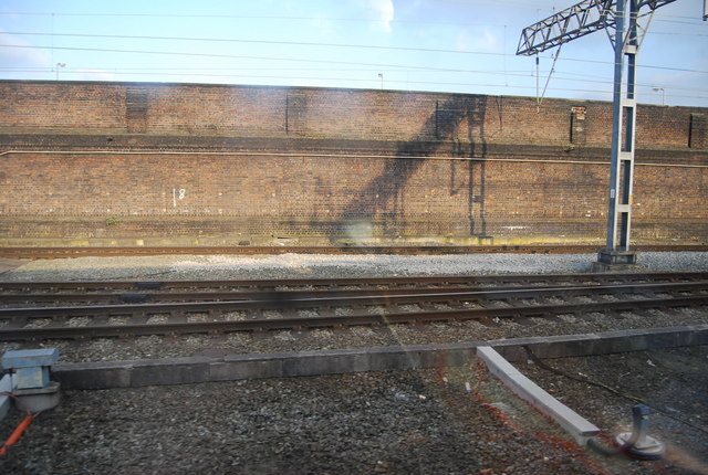 WCML south of Crewe Station