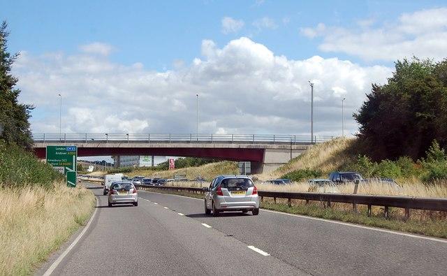 A303 Porton Road bridge