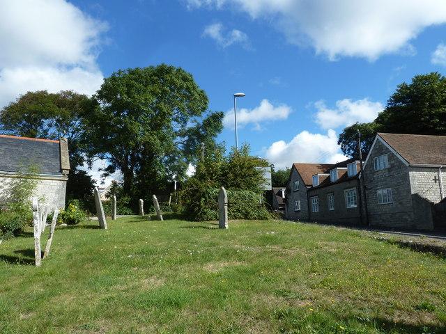 St Nicholas, Broadwey: gravestones