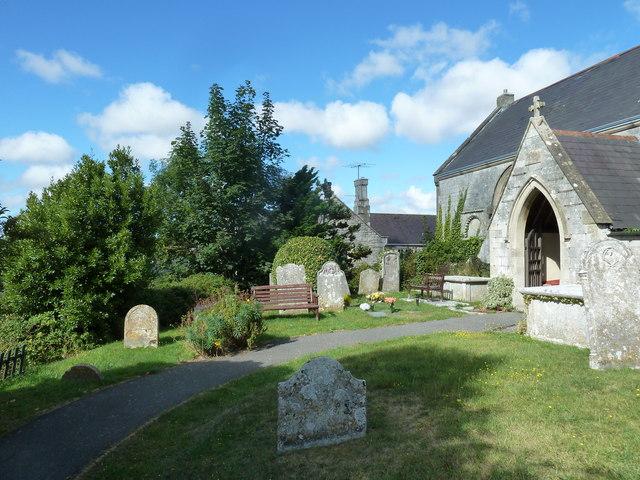 St Nicholas, Broadwey: path