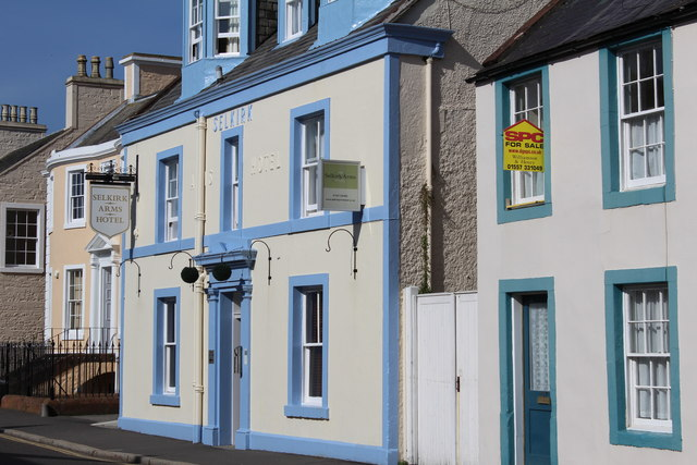 Selkirk Arms Hotel, High Street, Kirkcudbright