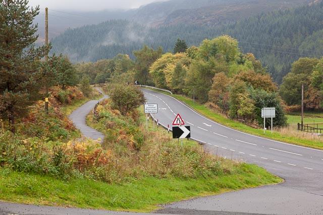 A85 in Glen Ogle