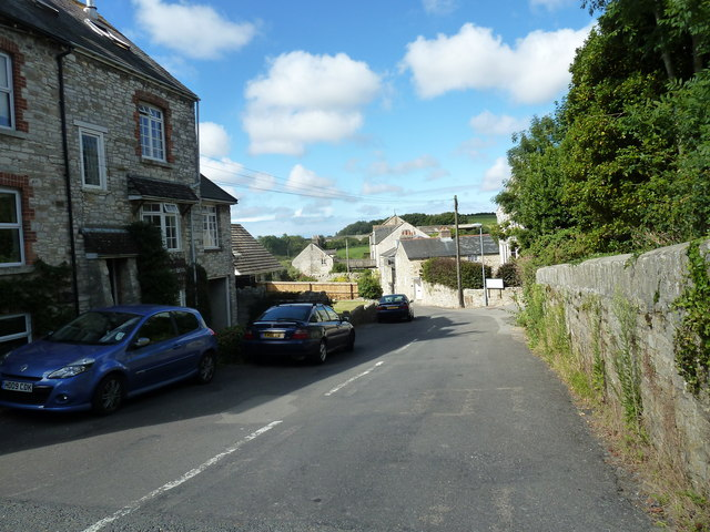 Looking from Dorchester Road into Mill Street