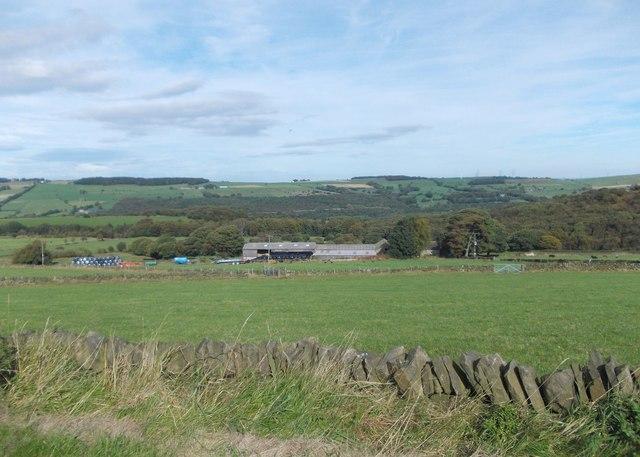 Barnside Farm from Mortimer Road