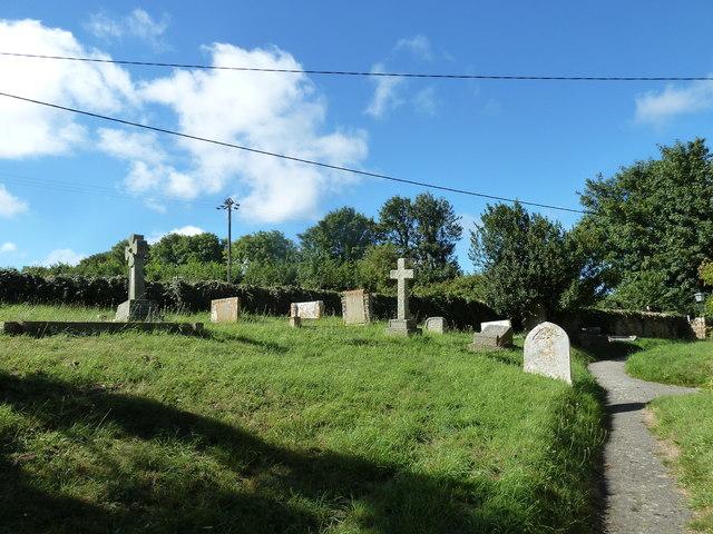 St Nicholas, Buckland Ripers: churchyard (d)
