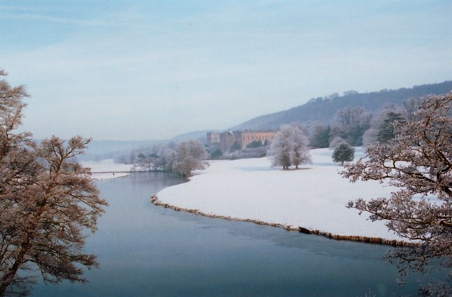 Chatsworth Park in the Snow