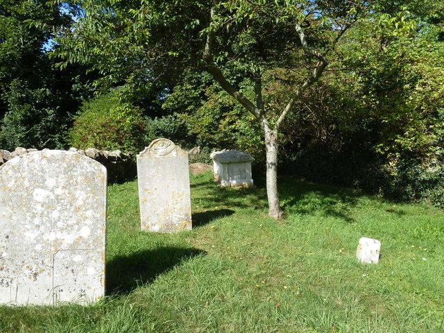 St Nicholas, Buckland Ripers: churchyard (f)