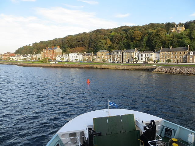 Rothesay sea front