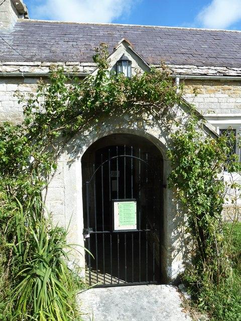 St Nicholas, Buckland Ripers: entrance