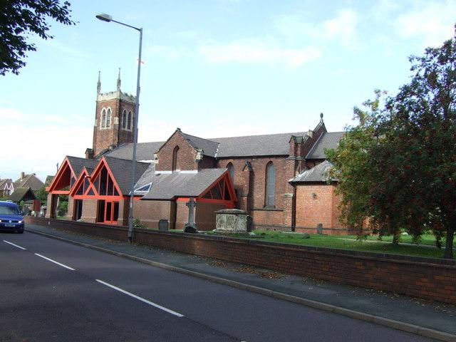 St. Michael and All Angels Church, Pelsall
