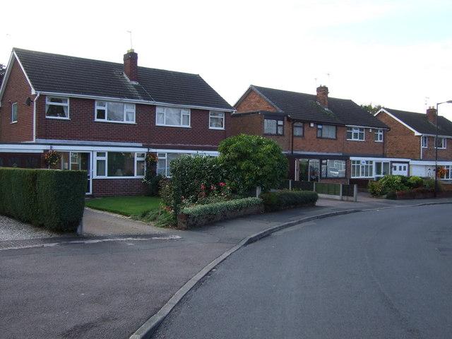 Houses on Hillside Crescent