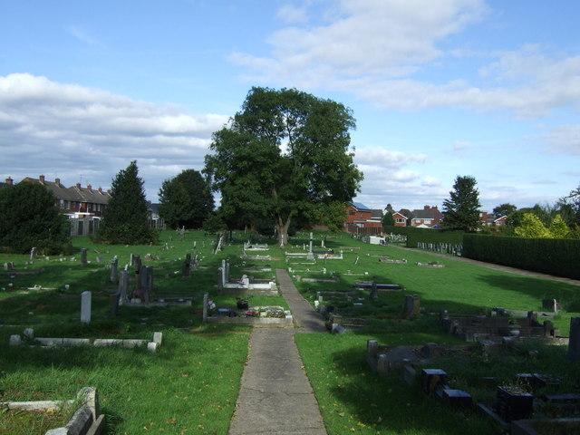 Cemetery, Pelsall