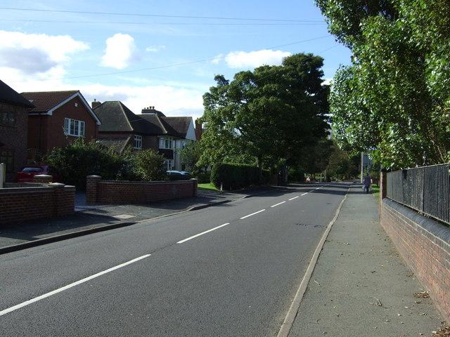Hall Lane, Pelsall