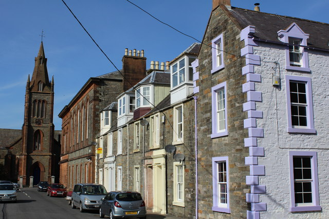 Church Place, Kirkcudbright