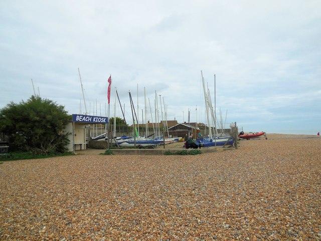 Beach Kiosk & Boats