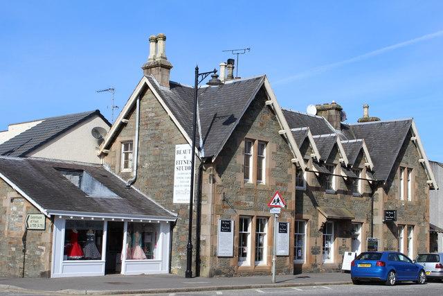 Former Railway Station Building, Kirkcudbright