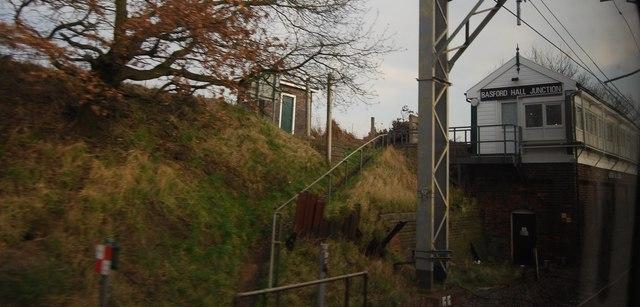 Basford Hall Junction Signalbox