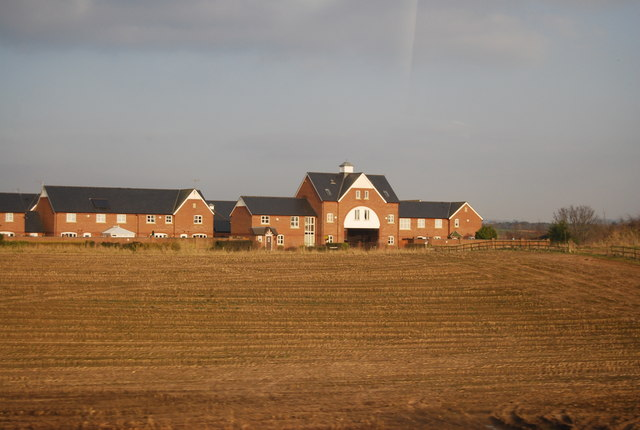 New housing on the edge of Chorlton