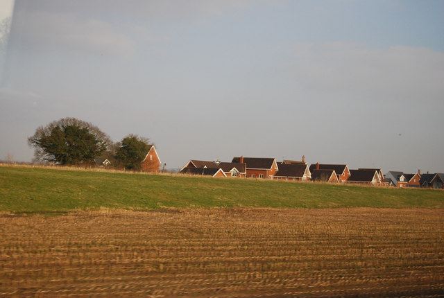 New housing south of Chorlton