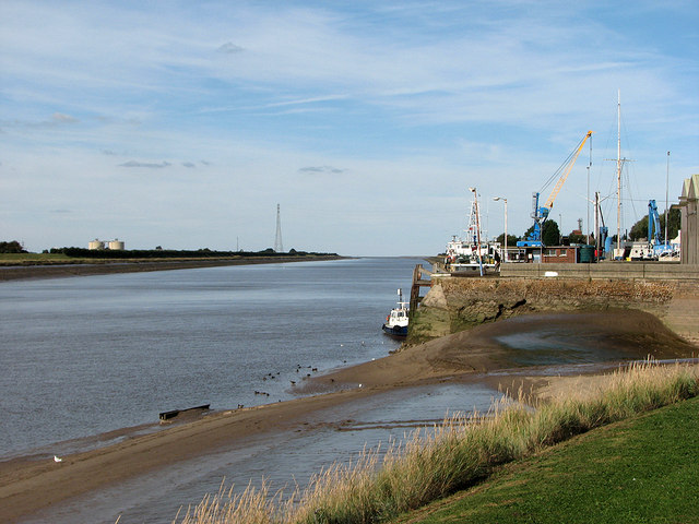 King's Lynn: towards The Wash