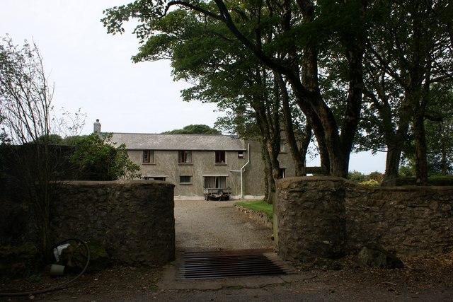 Rhyndaston Fawr farmhouse