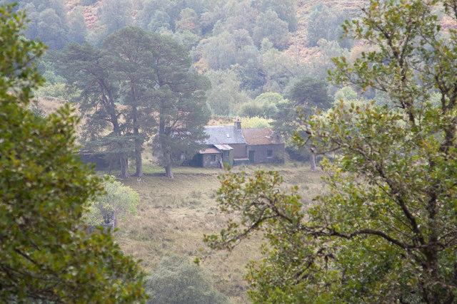 Abandoned house at Cranachan
