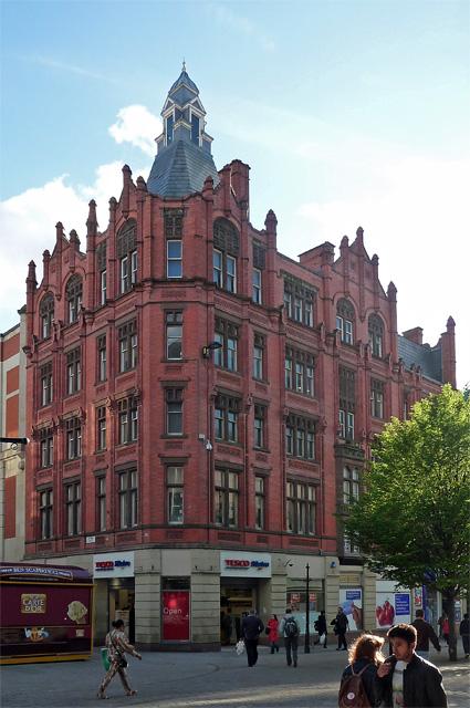 Stephen's Buildings, Market Street, Manchester