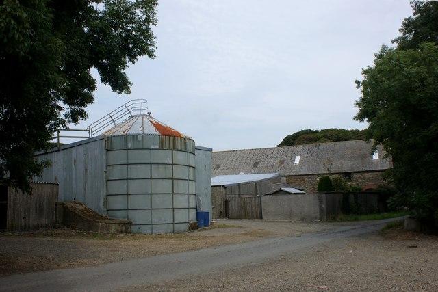 Farmyard at Rhyndaston Fawr