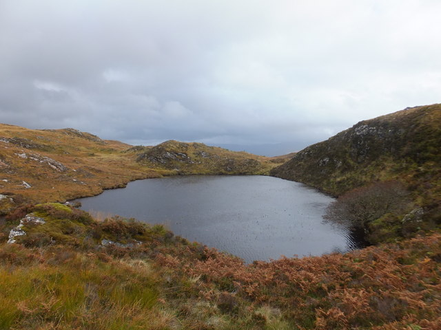 Lochan to North-west of Loch a' Choire Leith