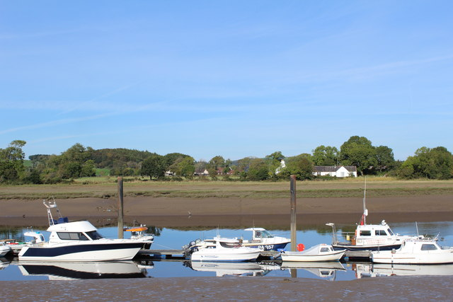 Kirkcudbright Marina, River Dee