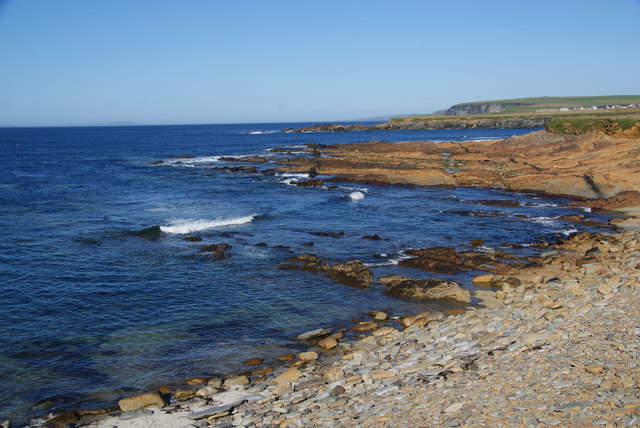 The northern side of the Point of Buckquoy